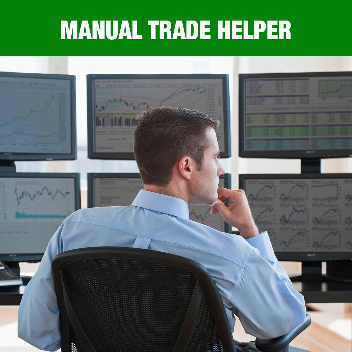 Manual Trade Helper for TradingView